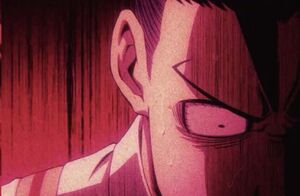 Tenya stricken with fear by the appearance of All For One