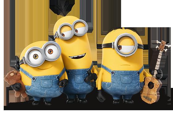 Kevin, Stuart & Bob