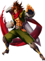 Bang Shishigami (Chrono Phantasma, Character Select Artwork)