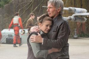 Leia and Han Solo - TFA