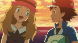 Serena and Ash's 1st Date