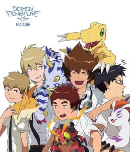 Boy DigiDestinds and Digimons