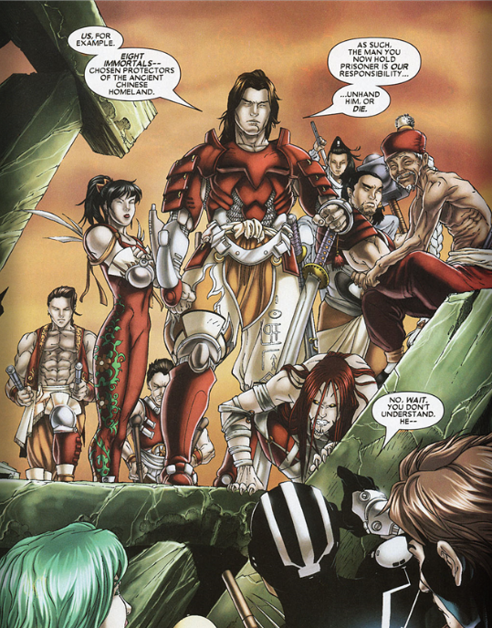 Eight Immortals (Marvel)