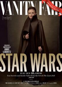 Leia TLJ - Vanity Fair Cover