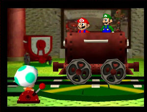 Mario Party 2 mario luigi and green toad
