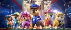 Paw Patrol The Movie (2021) - First Look - Zuma, Rocky, Skye, Chase, Marshall & Rubble