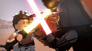 Rey vs Vader - The LEGO Star Wars Holiday Special