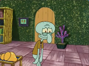 Squidward band humor (laughs)
