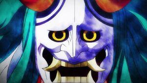 Yamato's disguise closeup