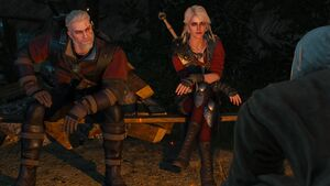Ciri and Geralt 2