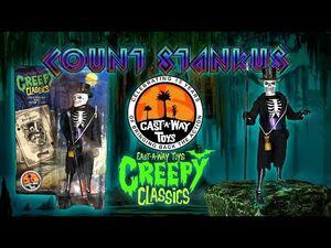 Creepy Classics Deal Maker Cast-a-way toys