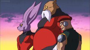 Dragon ball super pride troopers by giuseppedirosso-dbaqler