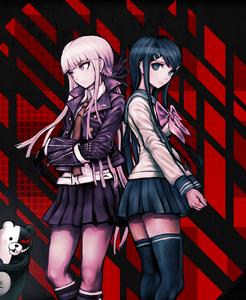 Kyouko-Kirigiri-and-Sayaka-Maizono-Danganronpa-Trigger-Happy-Havoc-kittyluv57-38317143-339-500