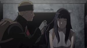 Naruto and Hinata grow closer
