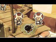 Paper Mario - Save Olivia! Goodbye Bomb-omb Bobby - The Origami King