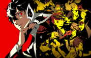 Persona 5 royal official art