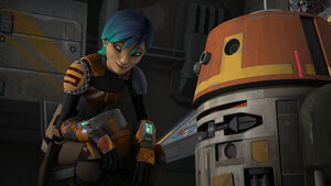 Sabine and Chopper
