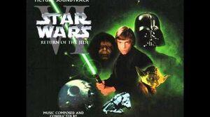 Star Wars VI Return of the Jedi - Luke and Leia