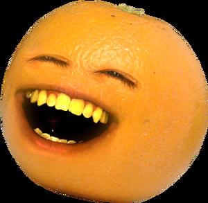 Orange laugh
