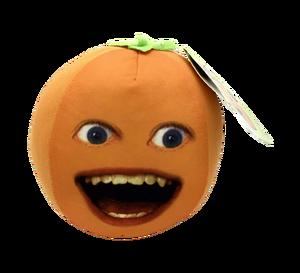 Orange plushie