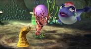 Pearl fortuntells a sponge's dreams