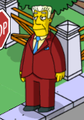 Tapped Out Kent Brockman
