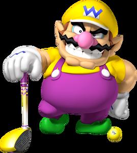 Wario Artwork - Mario Golf World Tour