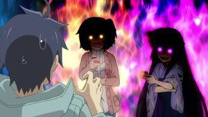 Akatsuki and Minori- Creepy