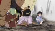 Jaken, A-Un and Young Setsuna