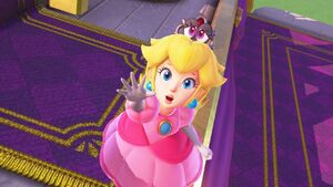 SMO - Peach and Tiara