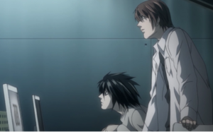 L and Light Yagami