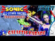 Sonic & All Stars Racing Transformed (PC) - Galactic Parade - Pudding (Expert) -Motion Blur-