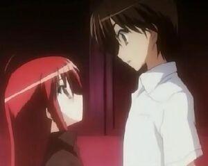 Yuuji and Shana