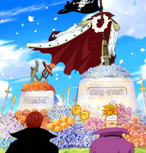Ace's and Whitebeard's funeral