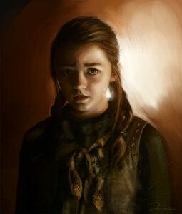 Arya Stark by AniaEm