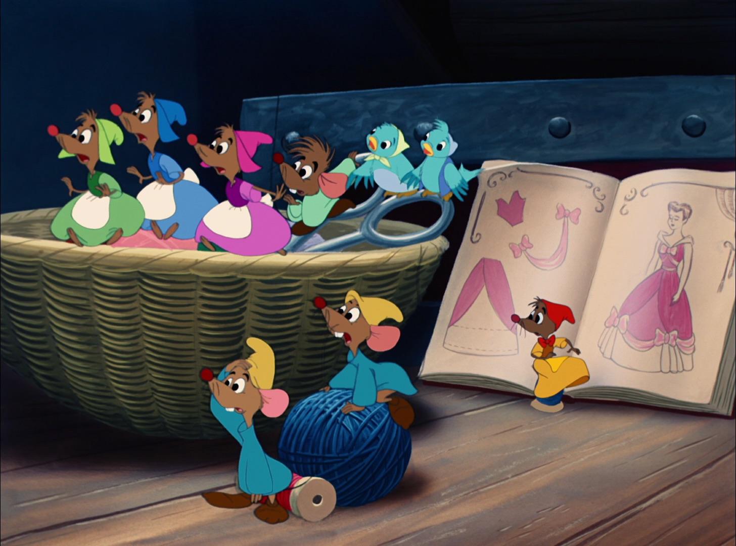Mice (Cinderella)
