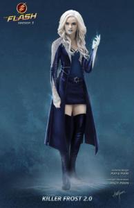 Killer Frost (Caitlin Snow) concept art