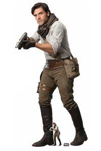 Poe-star-wars-ix-cardboard-standup