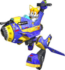 Tails in Sonic Adventure 2 Battle