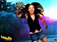 Aimee Carrero as Angie in Level Up 600