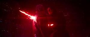 Kylo impales Han Solo