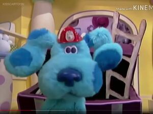Noggin's blue's clues blue's room blue 3123231