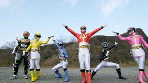 Gokaiger Goseiger Super Sentai 199 Hero Grand Battle cap5