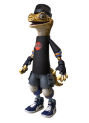 Mondo Gecko With Cap Profile.png