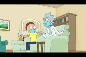Rick & Morty at the 72nd Emmy Awards