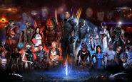 Commander Shepard's Squad