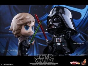 Cosbaby Bobble-Heads Luke and Vader