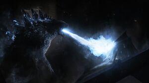 G14 - Godzilla Used Radioactive Heat Ray On 8-Legged M.U.T.O.