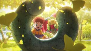 Digimon Mind Game - Izzy and Tentomon
