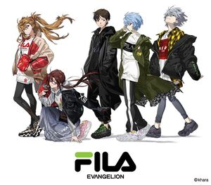 Neon Genesis Evangelion x FILA 10th Anniversary Collection